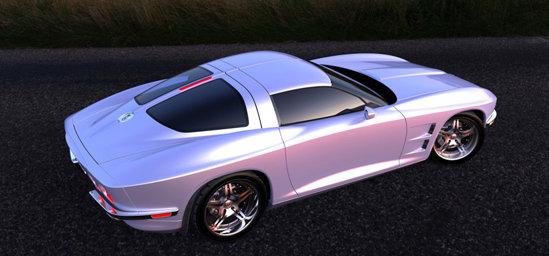 Rossi SixtySix este o reinterpretare moderna a celebrului Corvette Stingray din 1963