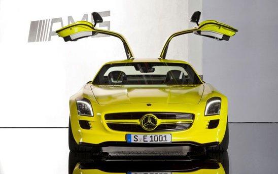 Mercedes SLS AMG E-Cell ar putea fi produs in serie redusa din 2013