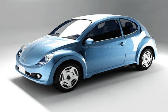 Brazilianul Eduardo Oliveira a imaginat un urmas fidel al originalului VW Beetle