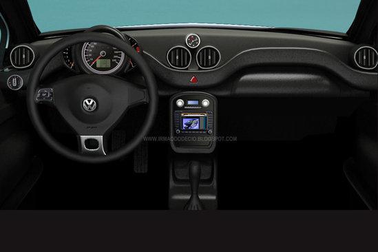 Interiorul viitorului Volkswagen Beetle (Fusca) pune accentul pe simplitate