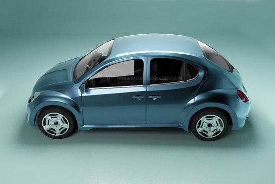 Noul Volkswagen Beetle ar urma sa aiba si o versiune cu 4 portiere