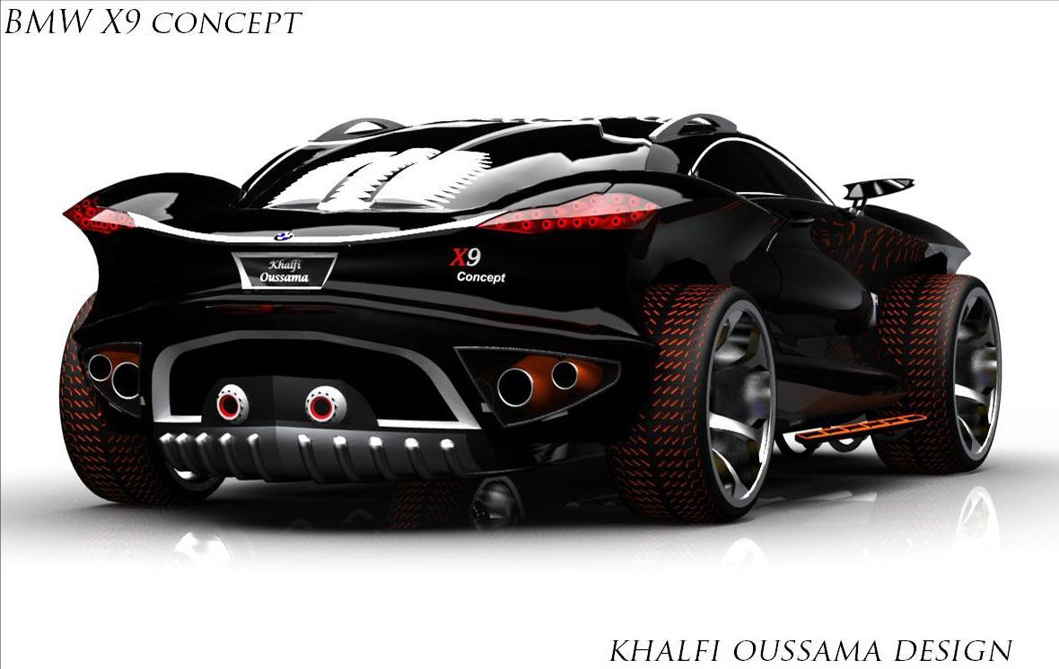 Imagini Khalfi Oussama Ne Propune Un Inedit Bmw X9 Concept