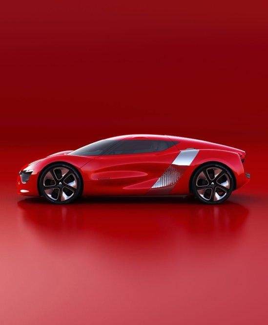 Renault DeZir este o masina sport cu doua locuri si cu motor electric plasat central