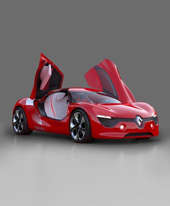Renault DeZir Concept va fi prezentat la Salonul Auto Paris 2010