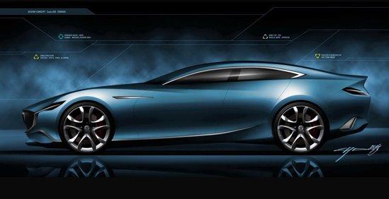 Desi Mazda Shinari a fost deja prezentat la Milano, va aparea si la Salonul Auto Paris 2010