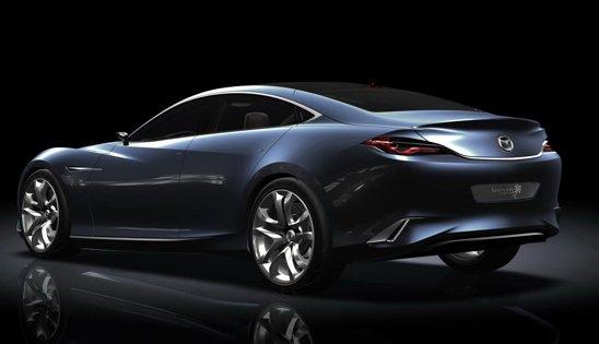 Denumirea conceptului Mazda Shinari se poate traduce ca rezistenta la indoire