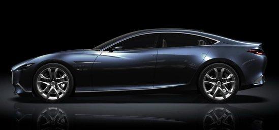 Mazda Shinari Concept introduce un nou limbaj de design, KODO