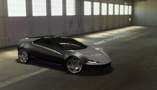 De Tomaso Ghepardo este un concept nou, in stilul coupe cu 4 usi