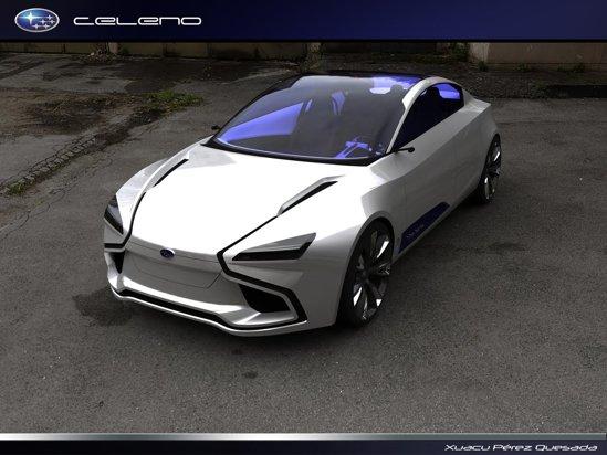 Subaru Celeno nu ne ofera o imagine de marca specifica Subaru