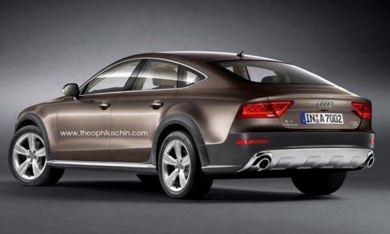 Audi A7 Sportback Allroad Quattro - o propunere virtuala foarte interesanta