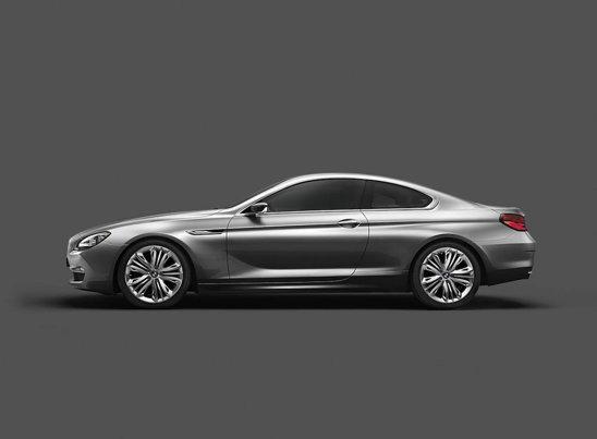 Noul BMW Seria 6 Concept prefigureaza in proportie de 99% viitorul coupe Seria 6