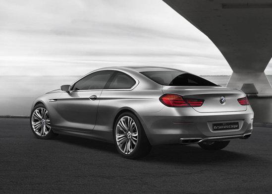 Silueta lui BMW Seria 6 Concept denota un Grand Tourism rasat, luxos si dinamic