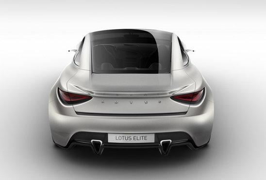 Lotus Elite Concept ascunde sub capota un motor V8 de 5,0 litri si 612 CP