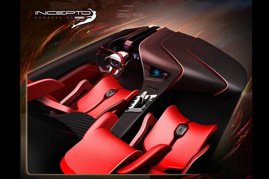 Inceptor ofera doua locuri sportive si idei inedite pentru ergonomia habitaclului