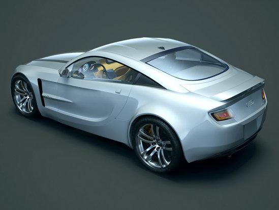 Liniile lui Audi aQa amintesc de Audi TT, dar masina capata o identitate proprie