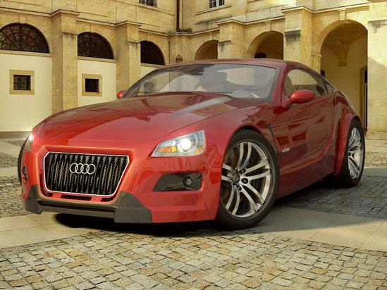 Audi aQa ar urma sa fie motorizat de un motor V8, dar ar beneficia si de tractiune quattro sau sistem FlexRide
