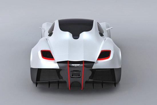 Spatele masinii face din Bentley Silver Wings un supercar original
