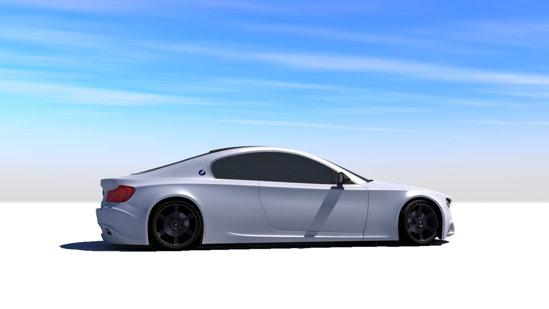 BMW CSi este creatia bucuresteanului Marius Apintilie