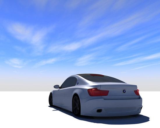 BMW CSi are un stil agresiv, fiind un omagiu adus coupe-urilor E9 si E24
