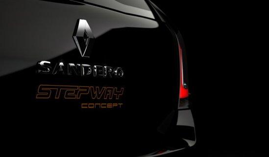 Teasing pentru Renault Sandero Stepway Concept - despre ce poate fi vorba?