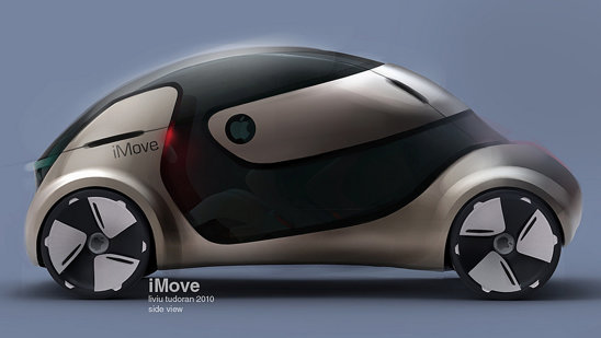 Apple iMove are un profil aerodinamic si un design nonconformist