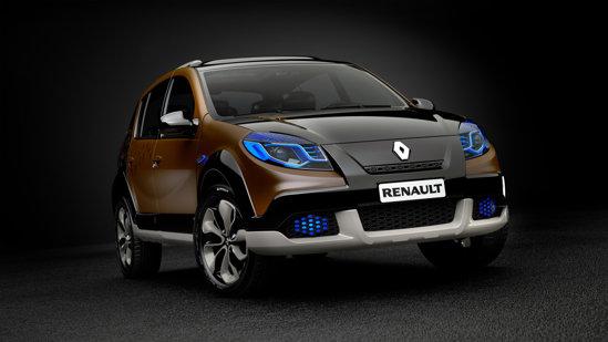 Renault Sandero Stepway Concept poate prefigura un facelift pentru gama Sandero