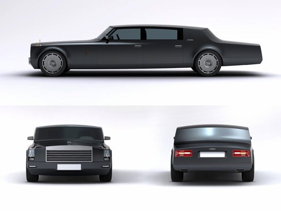 ZIL Concept - asa ar putea arata noua limuzina prezidential ruseasca