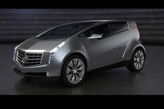 Cadillac Urban Luxury Concept are acelasi stil angular, dar un gabarit de clasa mica