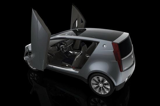 Cadillac Urban Luxury Concept are o propulsie hibrida, cu un motor termic turbo de 1,0 litri