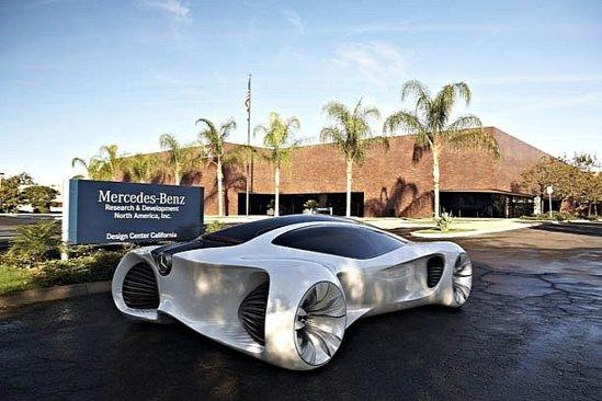 Mercedes Biome Concept are o lungime de 4 metri si este facut din biofibre