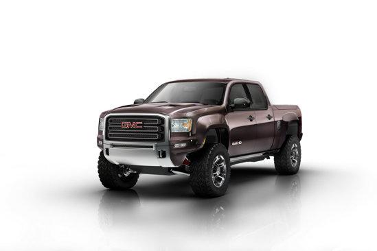 GMC Sierra HD Concept - viitorul pick-up-urilor heavy duty de la GMC Trucks