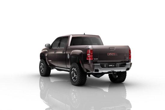 GMC Sierra HD Concept are un motor V8 diesel de 6,6 litri si 397 CP