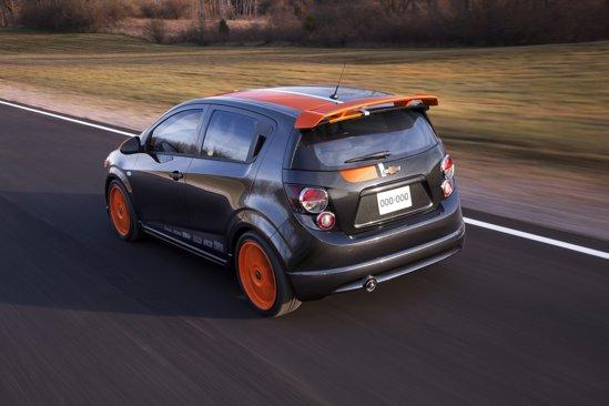 Chevrolet Sonic Z-Spec este echipat de nume sonore din industria tuningului