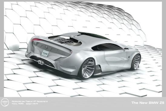 BMW Z5 este creatia unei echipe de doi designeri turci