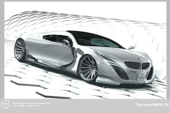 In partea frontala, BMW Z5 renunta la angel eyes pentru leduri