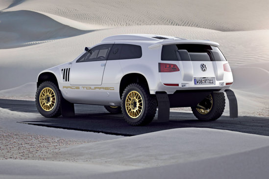 Volkswagen Race Toareg 3 Qatar nu are modificari majore la exterior
