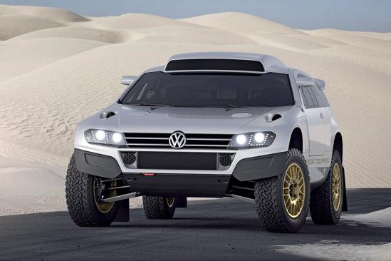 Volkswagen Race Touareg 3 Qatar este versiunea de strada a bolidului din Dakar
