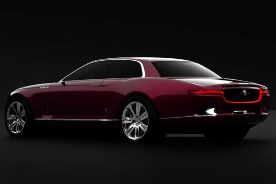 Deocamdata nu se stie daca Bertone a redesenat Jaguar XJ sau este prefigurat noul X-Type