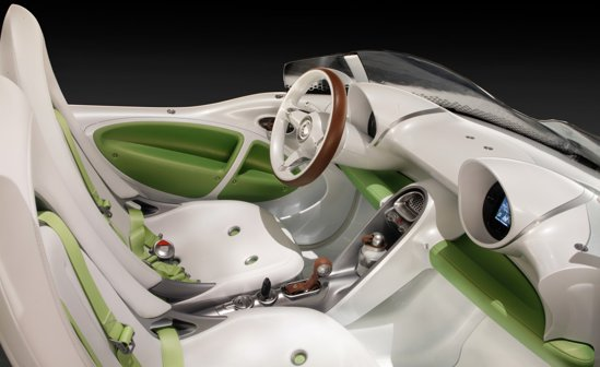 smart ForSpeed Concept are un motor electric de 41 CP si atinge 120 km/h