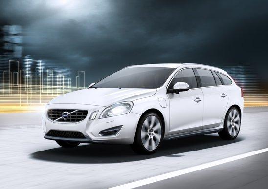 Volvo V60 diesel plug-in hybrid apare ca un concept la Salonul Auto Geneva 2011