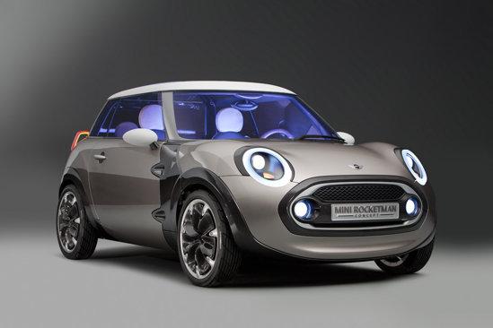 Conceptul Mini Rocketman prefigureaza aparitia celui mai mic model Mini