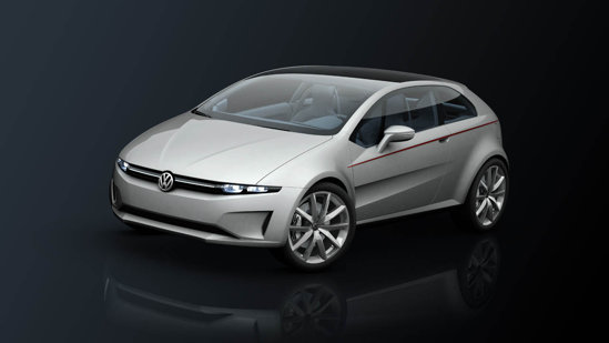 Volkswagen Tex by Giugiaro are propulsie hibrida TwinDrive, combinand un turbo de 1,4 litri cu un motor electric
