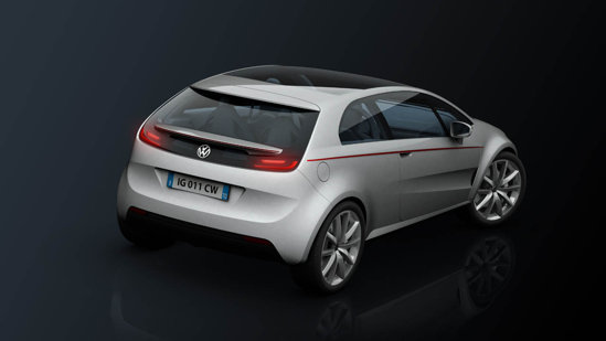 Volkswagen Tex by Giugiaro prefigureaza un coupe de clasa mica
