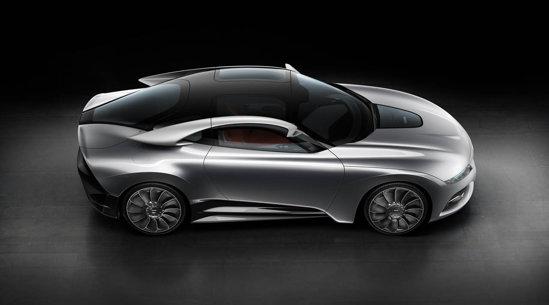 Saab PhoeniX Concept aplica un stil de design denumit Aeromotional