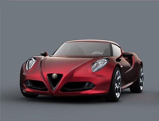 Alfa Romeo 4C este noul concept prezentat la Salonul Auto Geneva 2011