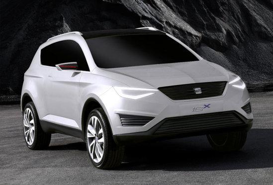 Seat IBX prefigureaza un SUV compact, var cu VW Tiguan si Skoda Yeti
