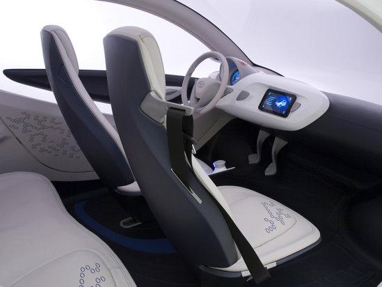 Tata Pixel Concept - motor diesel de 1,2 litri si sistem de directie pe Zero Turn pe toate rotile