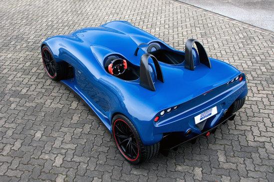 Wiesmann Spyder Concept are un design sportiv purist