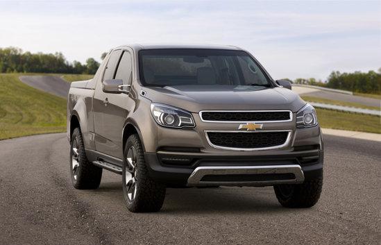 Chevrolet Colorado are un design modern, dar inglobeaza si detalii cunoscute Chevrolet
