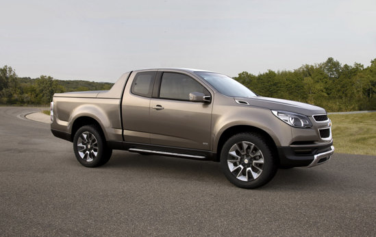 Chevrolet Colorado Show Truck prefigureaza noua generatie de pick-up-uri medii